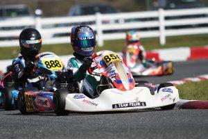 Jeremy Fletcher was named winner in KA100 Junior following tech (Photo: EKN)