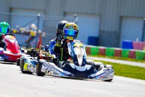 Addison Ianniello doubled up in the Briggs 206 Junior class