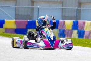 Sebastian Wheldon swept the action on Sunday in KA100 Junior for his first Route 66 Sprint Series victory