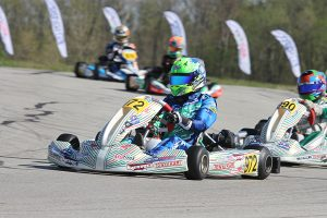 Connor Zilisch added his second win on the year in KA100 Senior