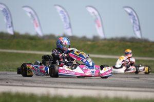 Sebastian Wheldon secured his first USPKS victory in the KA100 Junior class
