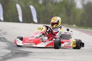 First victory in X30 Junior for Caleb Gafrarar