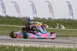Chase Hand added his first USPKS victory in KA100 Junior to his 2021 CV