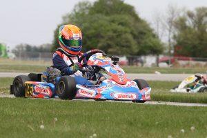 Enzo Vidmontiene drove away to victory in Mini Swift