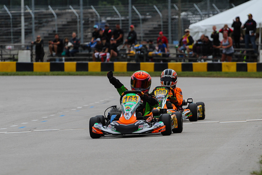 Cash Perkins became the fourth different winner in the Mini Swift class for 2021 (Photo: AG Digital Content)