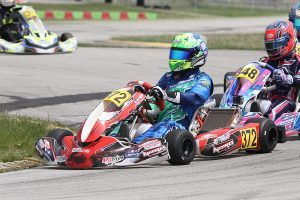Connor Zilisch leads the X30 Pro and KA100 Senior championship heading into the second half of season (Photo: EKN)