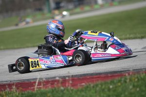 Sebastian Wheldon is at the top of the title chase in KA100 Junior (Photo: EKN)
