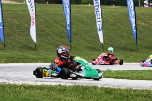 Keelan Harvick won for a second time in Micro Swift on the year (Photo: EKN)