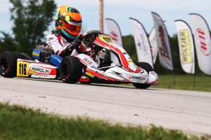 A solid return to the USA for Matias Orjuela with victory in Mini Swift (Photo: EKN)
