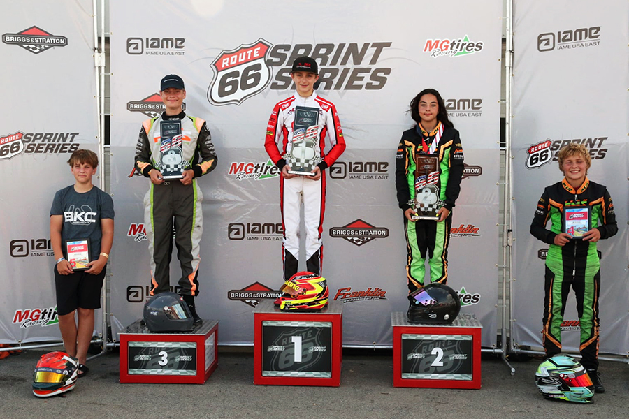 KA100 Junior was swept in the main events by Austin Jurs